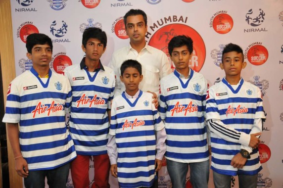 Winners of Milind Deora Soccer Championship