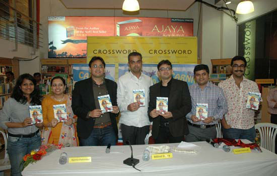 Milind Deora launches Carnival, a book of short stories